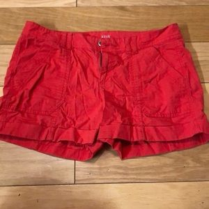 L.N.A red shorts